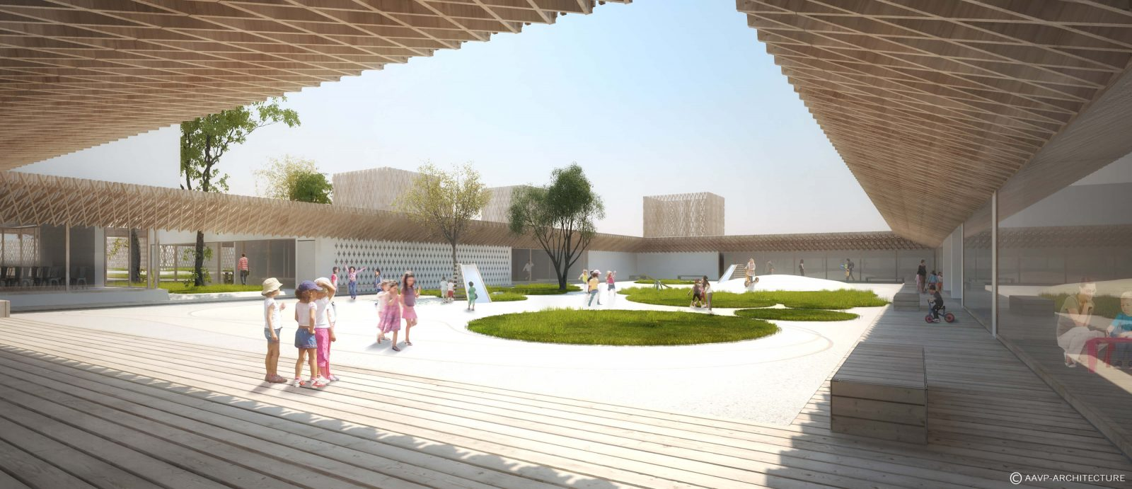Perspective du projet (Vincent Parreira, cabinet AAVP)
