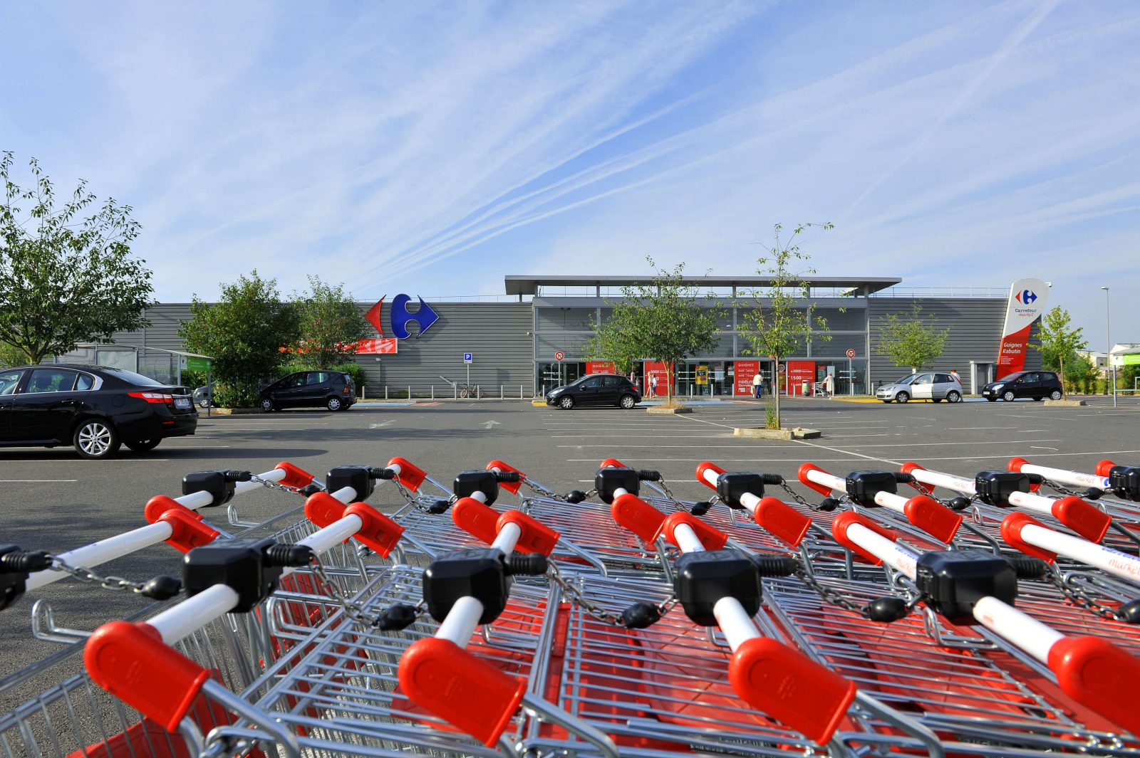 Implantation d'un Carrefour Market, Photo Jean-Paul HOUDRY