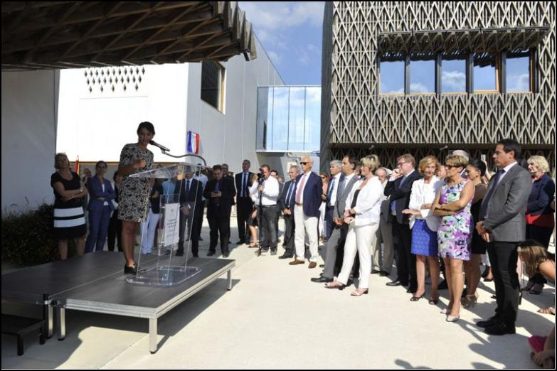 Inauguration du groupe scolaire, photo Aménagement 77