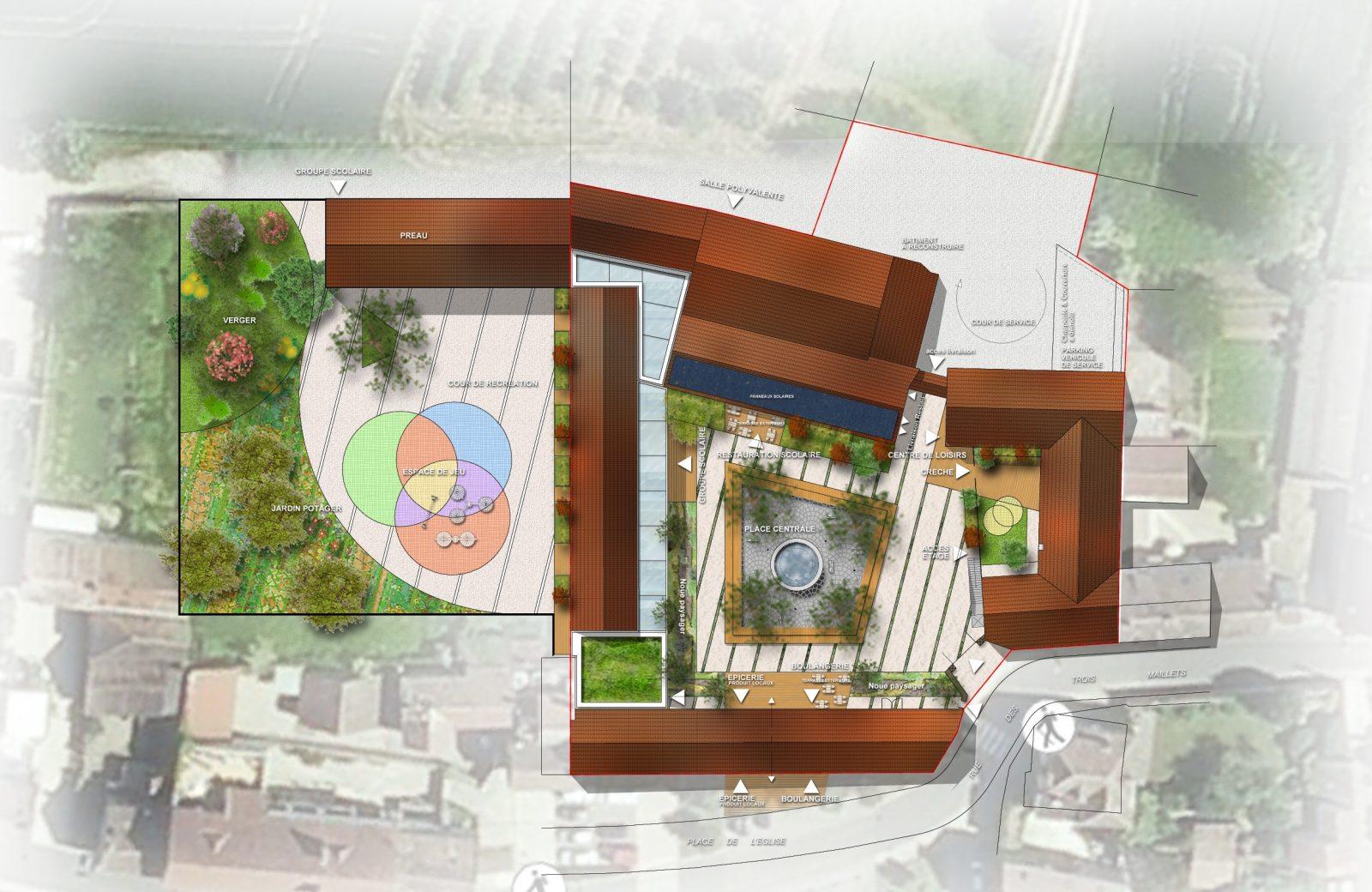 Perspective du projet (Atelier BW)