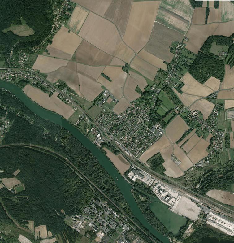 Photo aérienne Google
