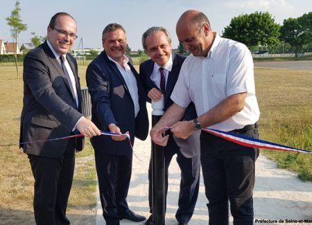 Le Parc Meckenheim inauguré au Mée-sur-Seine