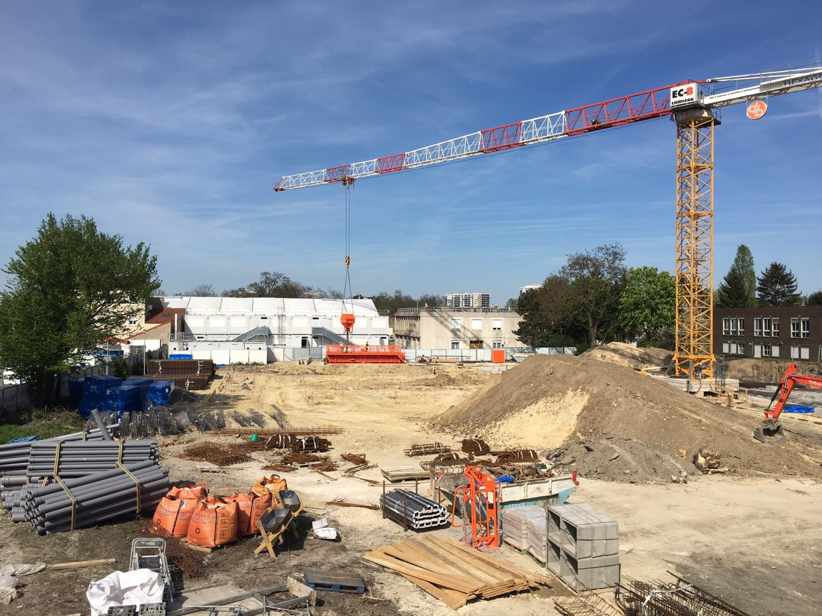 Photo du chantier - avril 2018