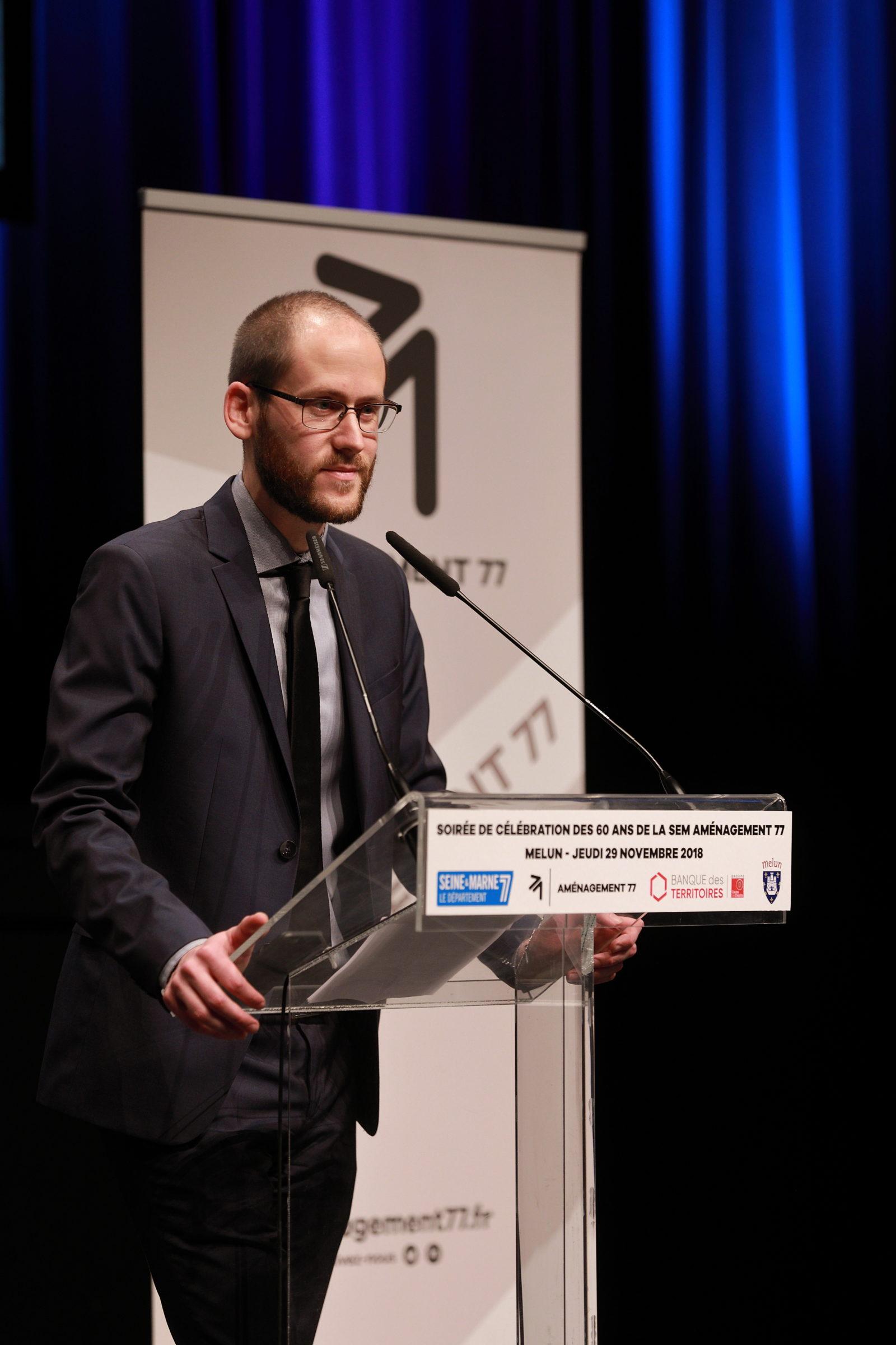 François CORRE - Directeur Général de la SEM Aménagement 77