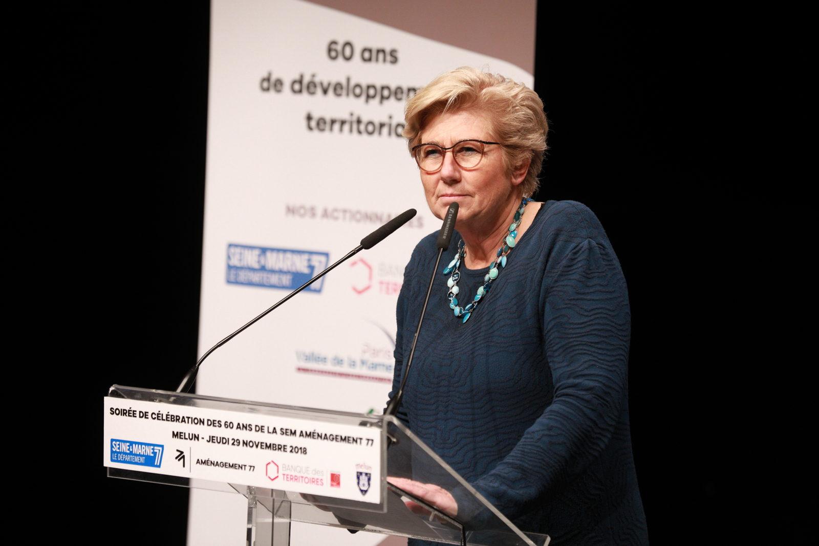 Marianne LOURADOUR - Directrice Régionale de la CDC