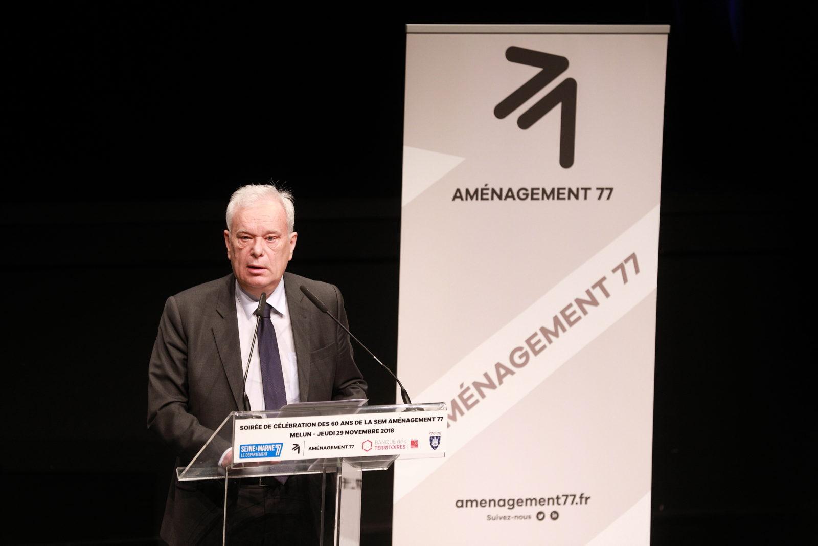 Patrick SEPTIERS - Président du Conseil Départemental de Seine-et-Marne