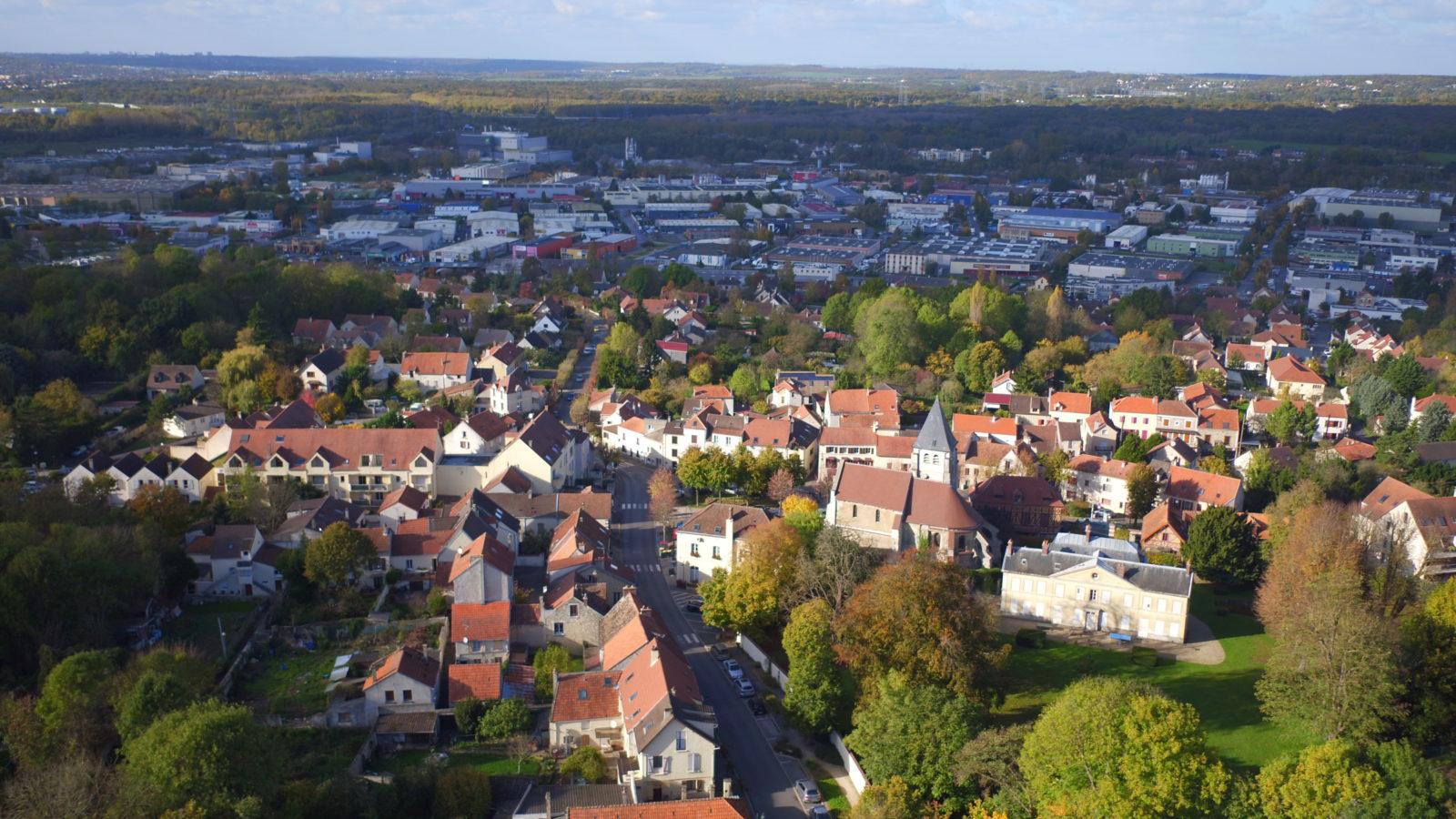 Un cœur de bourg historique dans la continuité duquel s'inscrira la ZAC