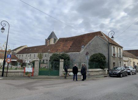 Réhabilitation en tissu ancien : c'est parti à Jouy-le-Châtel !