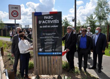 Une nouvelle zone d'activités inaugurée à Vaires-sur-Marne sur une ancienne friche industrielle